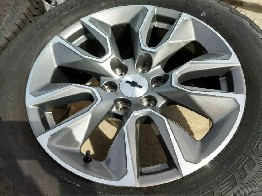 20 Quot Chevy Silverado 2019 Oem Wheels
