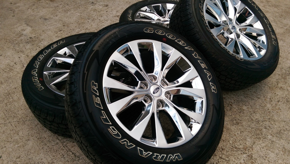 """Discount Tire Texas >> 20"""" Ford F-150 King Ranch Chrome OEM"""