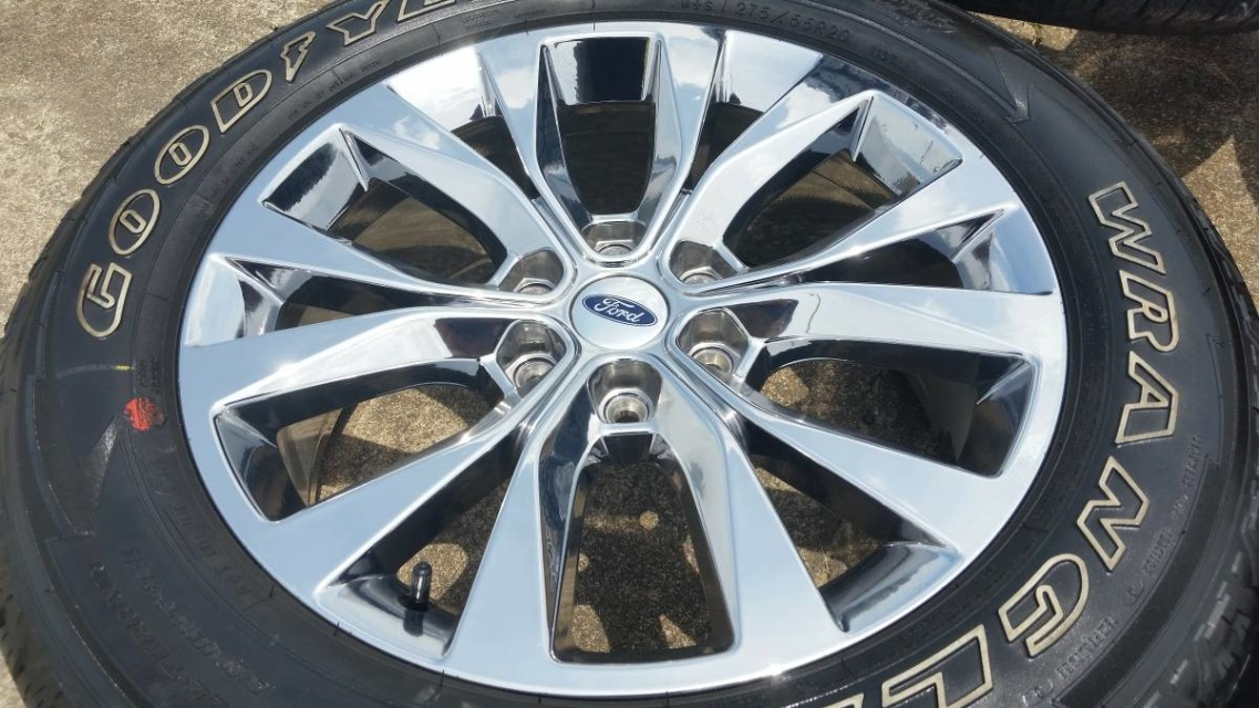 Ford F150 Factory Rims For Sale >> 20 Ford F 150 King Ranch Chrome Oem