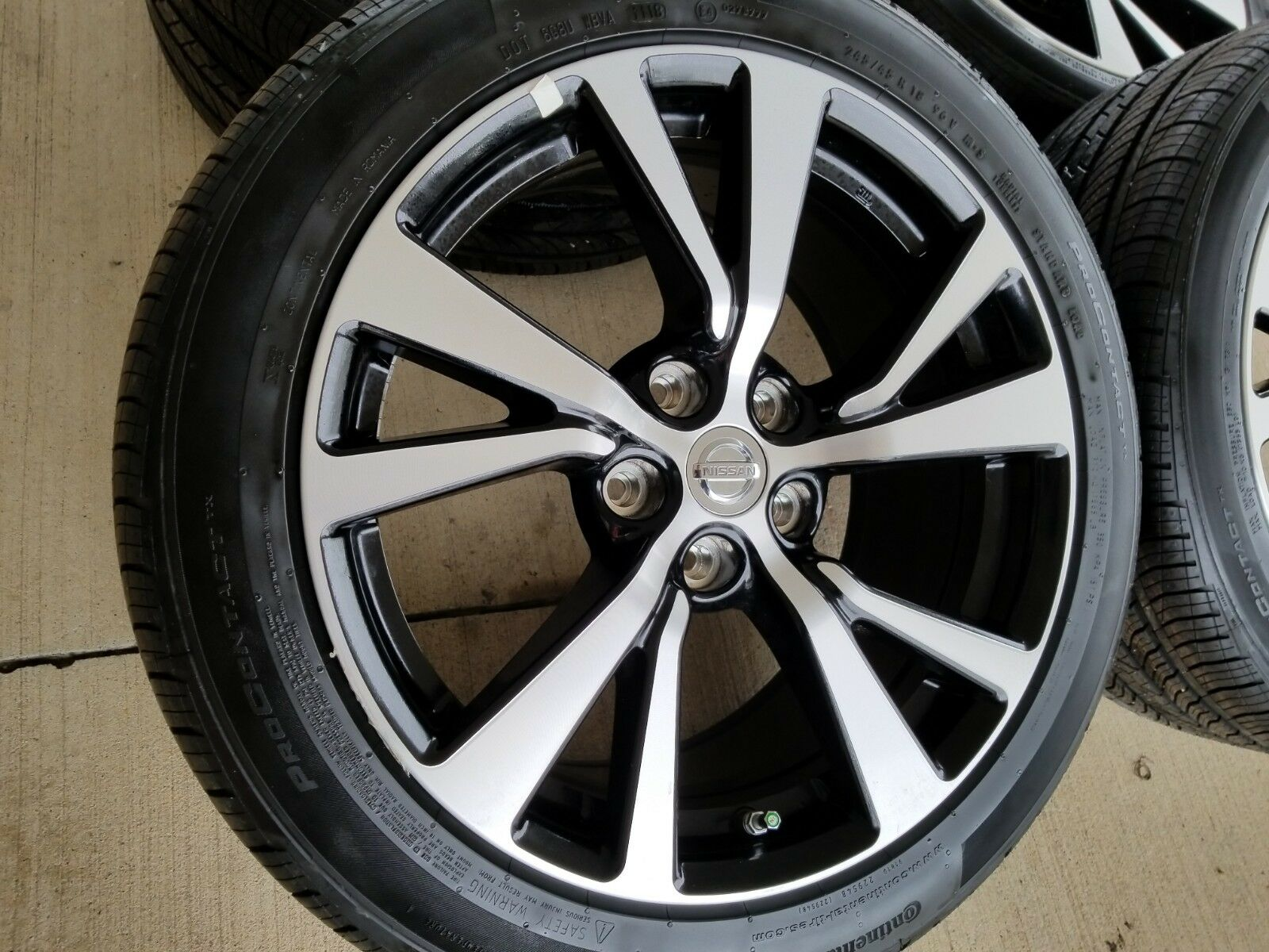 "Black Nissan Altima >> 18"" Nissan Maxima 2019 OEM Black and Machined wheels"
