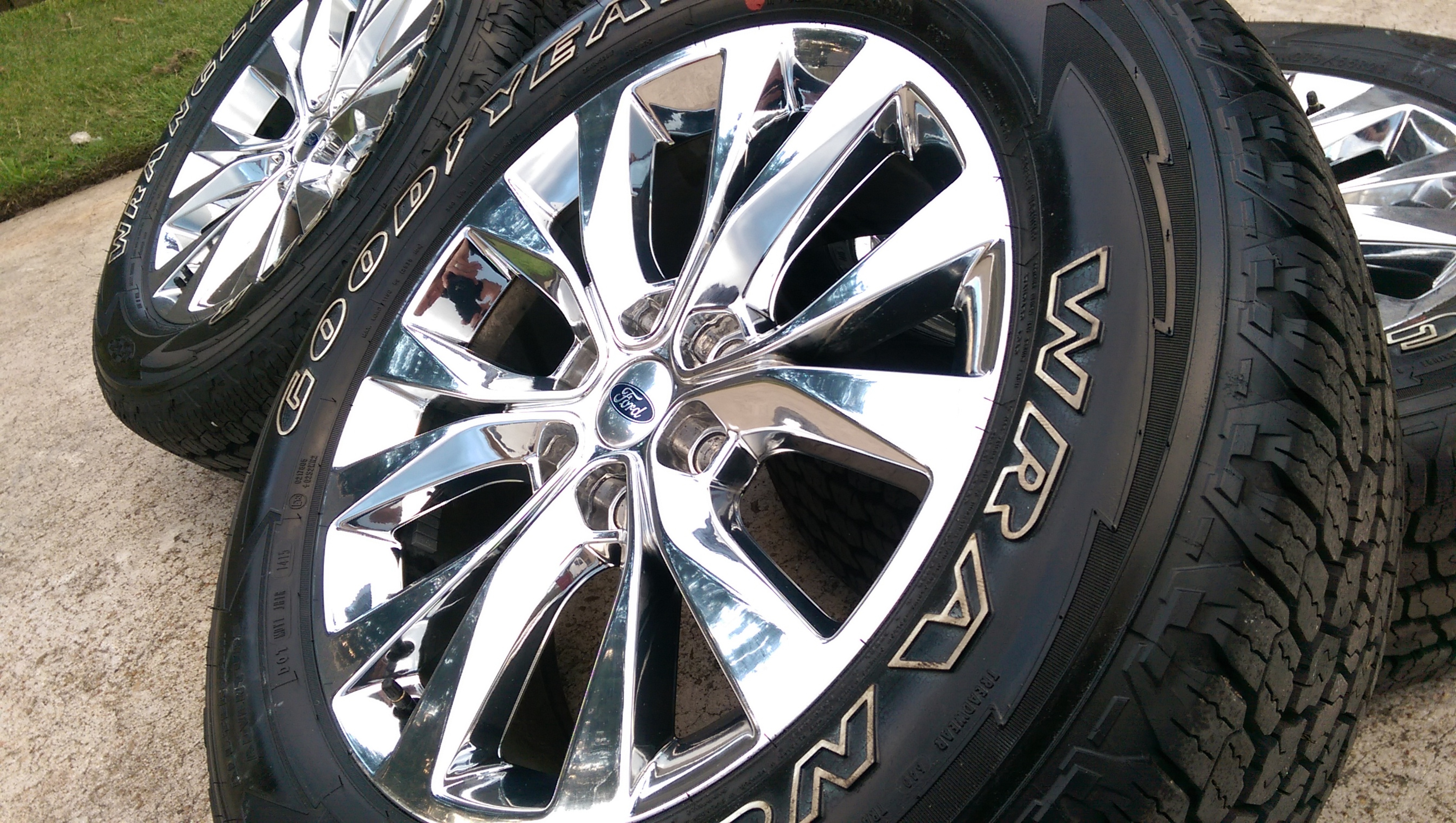 "20"" Ford F 150 King Ranch Chrome OEM"